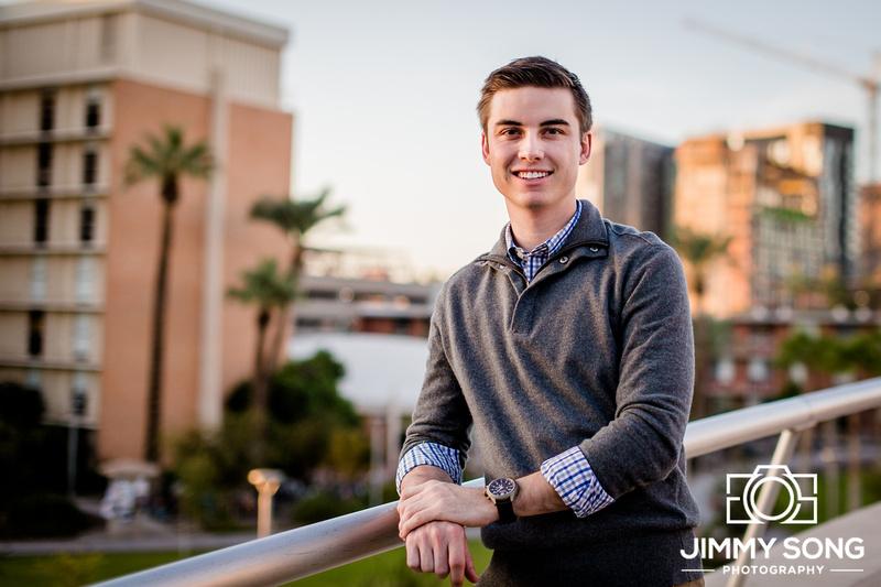 Senior Portraits Arizona State University Tempe, Arizona