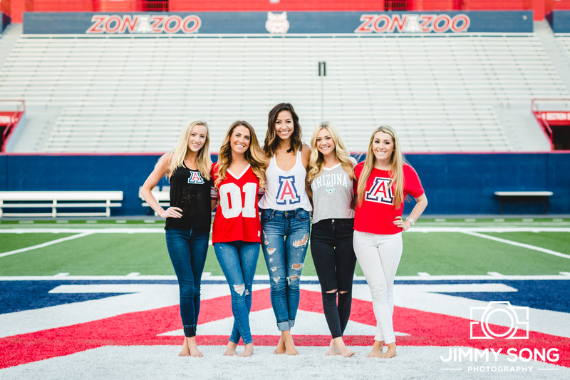 University of Arizona Tucson Senior Graduation Pictures Scottsdale Photographer