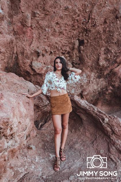 Papago Park tempe Arizona photoshoot vlog university