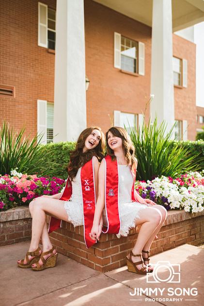 University of Arizona Tucson Arizona State University Senior Grad Graduation Pictures Photography