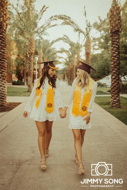 Arizona State University ASU Grad Graduation Pictures in Tempe Arizona