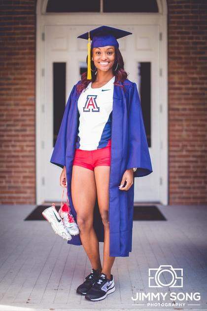 University of Arizona Tucson, Arizona Senior Graduation Pictures Portraits