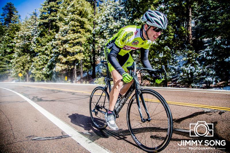 Hammer Nutrition Mt Lemmon Tucson Arizona Photoshoot