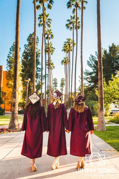 Arizona State University ASU Senior Grad Graduation Pictures in Tempe